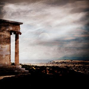 Acropolis view by lostknightkg