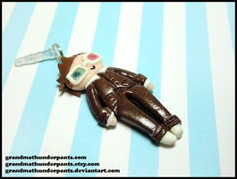 10th Doctor Dust Plug by GrandmaThunderpants
