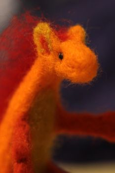 little baby dragon- close up by Gorgone