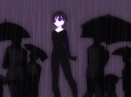 Irileia in the Rain by IceCreamQueen1