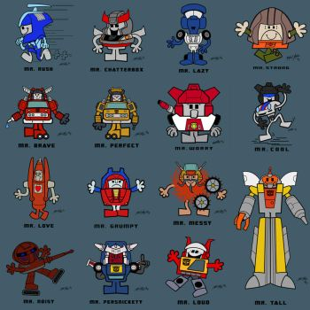 MR. MECH COLLECTION by Josh-van-Reyk