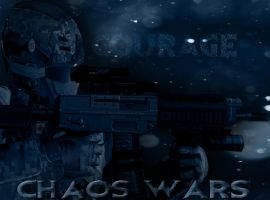 Chaos Wars - Marcus Andrews (Gmod+Poster Style) by Herioc107