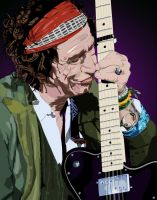 Keith Richards by jpsatre