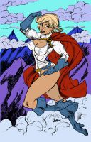 Power Girl by Inker-guy by BrokenJoker69