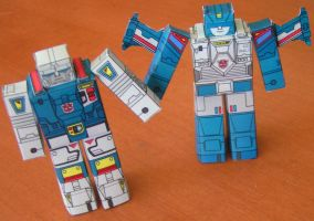 Twin Twist and Topspin by aim11