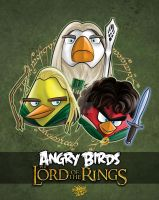 Angry Birds - Lord of the Rings by CanteRvaniA