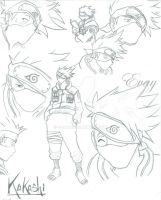 First Kakashi by E-vay