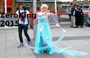Elsa and twirly things 1 by ZeroKing2015