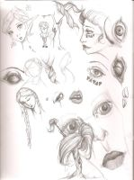 March 7th Doodles by LadyGhostDuchess
