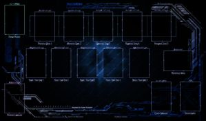 YGO Tech Playmat - aplha 0.01 by Swifty-TheVagabond