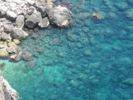 Rocks and Water by Yoruichiotaku