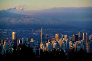 Queen Elizabeth Park Dusk by WestSideofMidnight