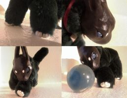 Proto - OOAK Animal Doll Details by BookThief17