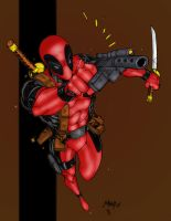 Deadpool coming at ya by statman71