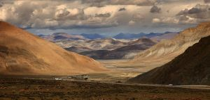Tibetan landscapes - IV by Suppi-lu-liuma