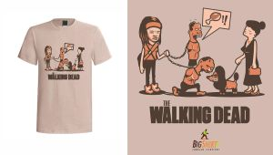 Michonne -  THE Walking Dead Shirt! by SpiderBoo