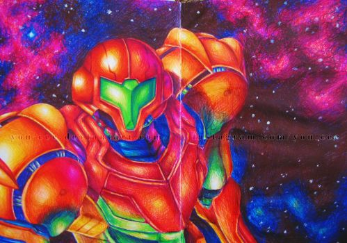 Metroid: Samus Aran by YOU-cee