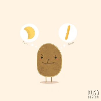 Potato by kusodesign