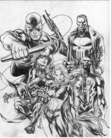 Marvel Knights by justbuzz