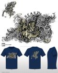 Dragon-Mythical Creatures T-shirt Design Challenge by fanitsafantasy