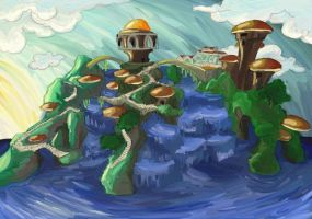 Panostia painting by rosedragoness