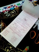 Handmade Wedding Card (Middle) by dindaseh