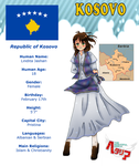 Hetalia Kosovo Reference by melonstyle