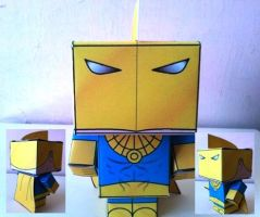 Cubeecraft Dr. Fate Completed by handita2006