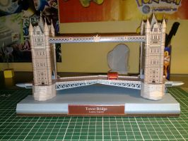 Tower Bridge Papercraft 1 by Marlous2604