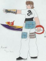 Kingdom Hearts Awai by TejayHighlander