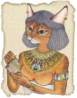 Bastet Kiriban by crokittycats