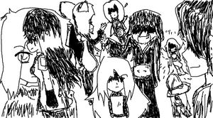 HTIAM group drawing by ifAnyoneCould