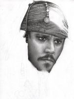 Capt Jack Sparrow WIP 4 by D17rulez