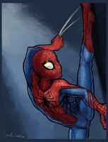 Spidertime by Kikane