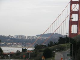 The Golden Gate by Heypolin