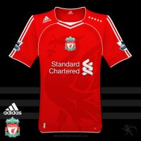Liverpool 2010-2011 Shirt by kitster29