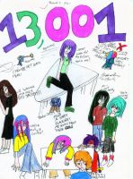 Thanks for 13,001 pageviews by Nyiana-sama