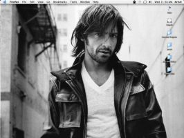 Hugh Jackman Desktop - July 06 by applemenu
