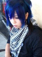 woot blue hair by Shingen-chan