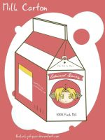 FMA: Milk Carton by theluckyshipper