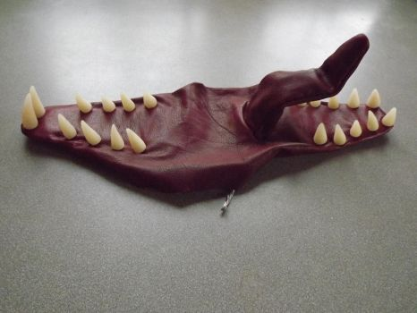Finished teeth and mouth assembly for Big Dragon by MammaLion