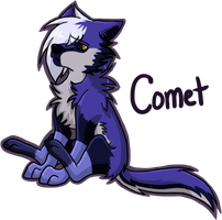 .:CM:Chibi Emo Comet:. by ShadownChaosforevr