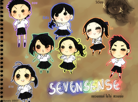 friends : SEVENSENSE by Klunatic