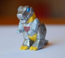 Grimlock Transformer Figure by LeiliaClay