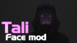Tali Face mod - main page header by SlipperyHammer