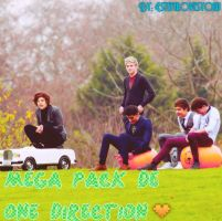 Mega Pack de One Direction. by EstefaLovesYouu