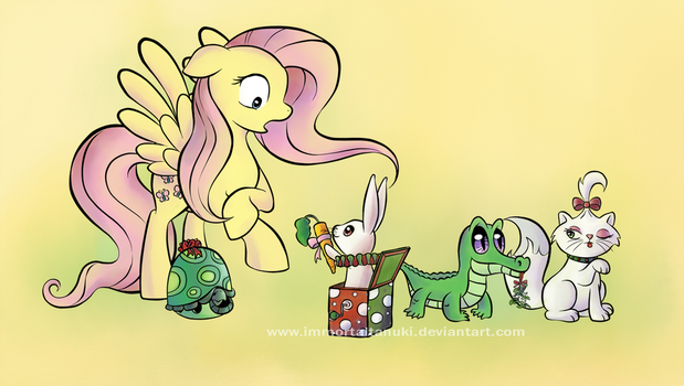 Hearth's Warming Scenes - Pop goes the Angel by ImmortalTanuki