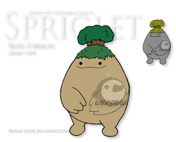 Fake Pokemon - Spriglet by Prinny-Dood