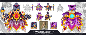 MMZX Ultimus-Chrollus and Chrollos the Chronoroids by ultimatemaverickx