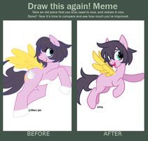 Before and After Meme by Wicklesmack